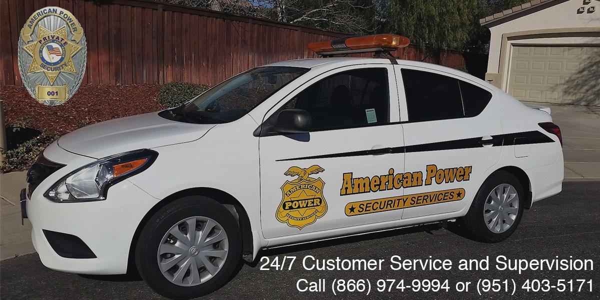 On-site Armed Security Guard in San Bernardino County, CA