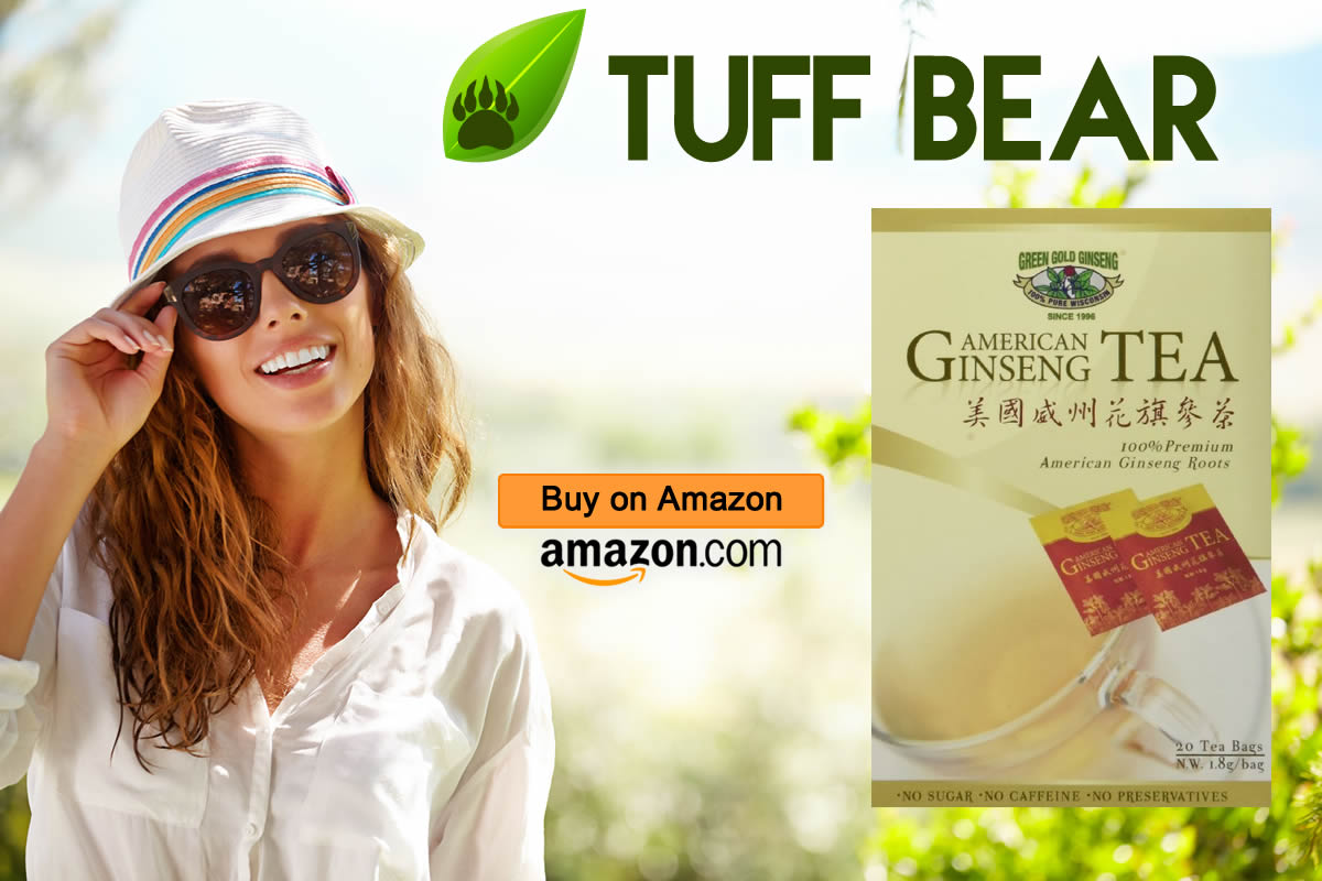 Best North American Ginseng Tea by Green Gold Ginseng