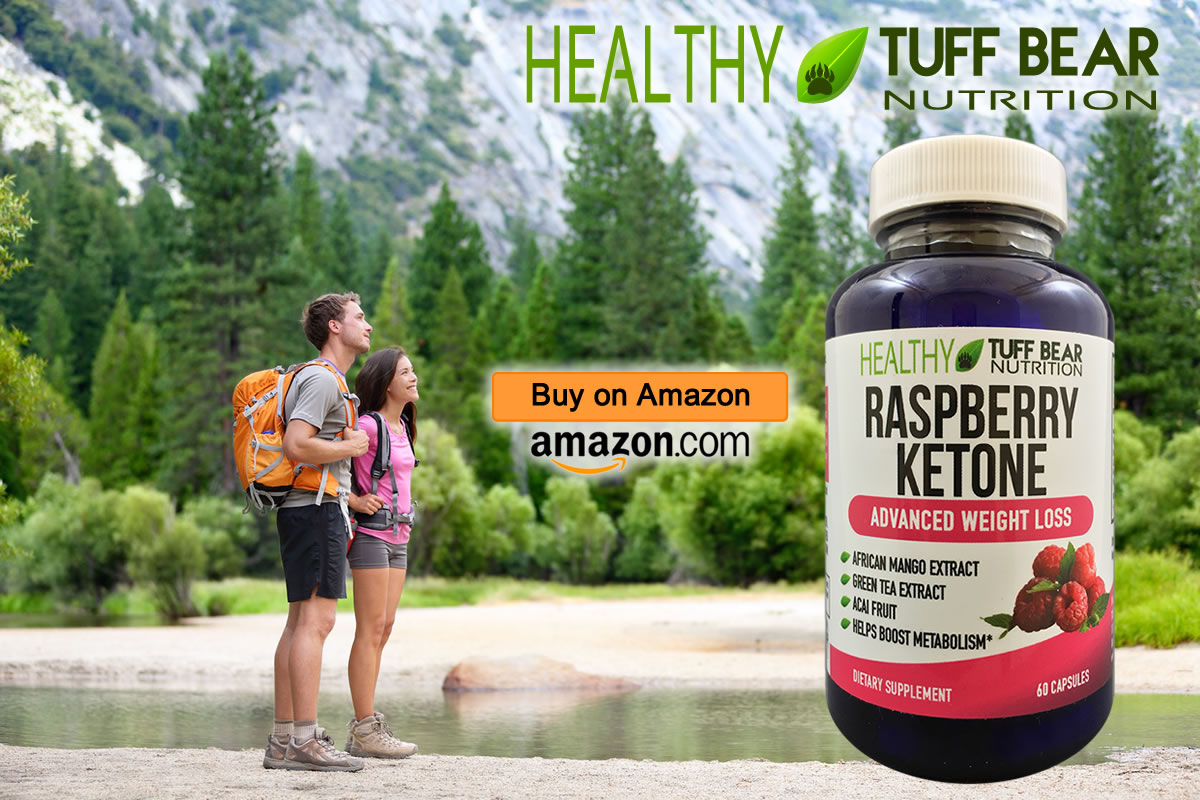 Best Raspberry Ketone Capsules by TUFF BEAR