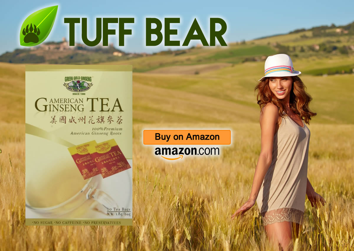 Pure American Ginseng Tea by Green Gold Ginseng