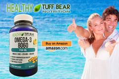 Get Now! Best Omega 3 Supplements by TUFF BEAR
