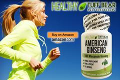 New American Ginseng Capsules by TUFF BEAR