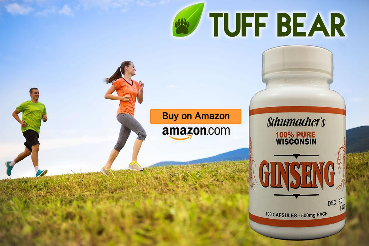 Best Ginseng Capsules  by Schumacher Ginseng