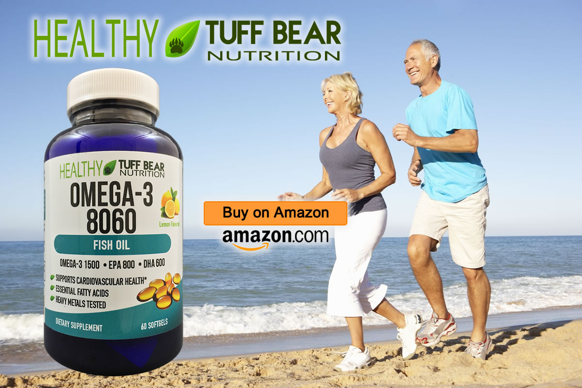 For Sale! New Omega 3 Supplements by TUFF BEAR