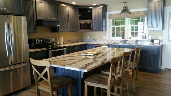 Clark Lake Cottage Kitchen