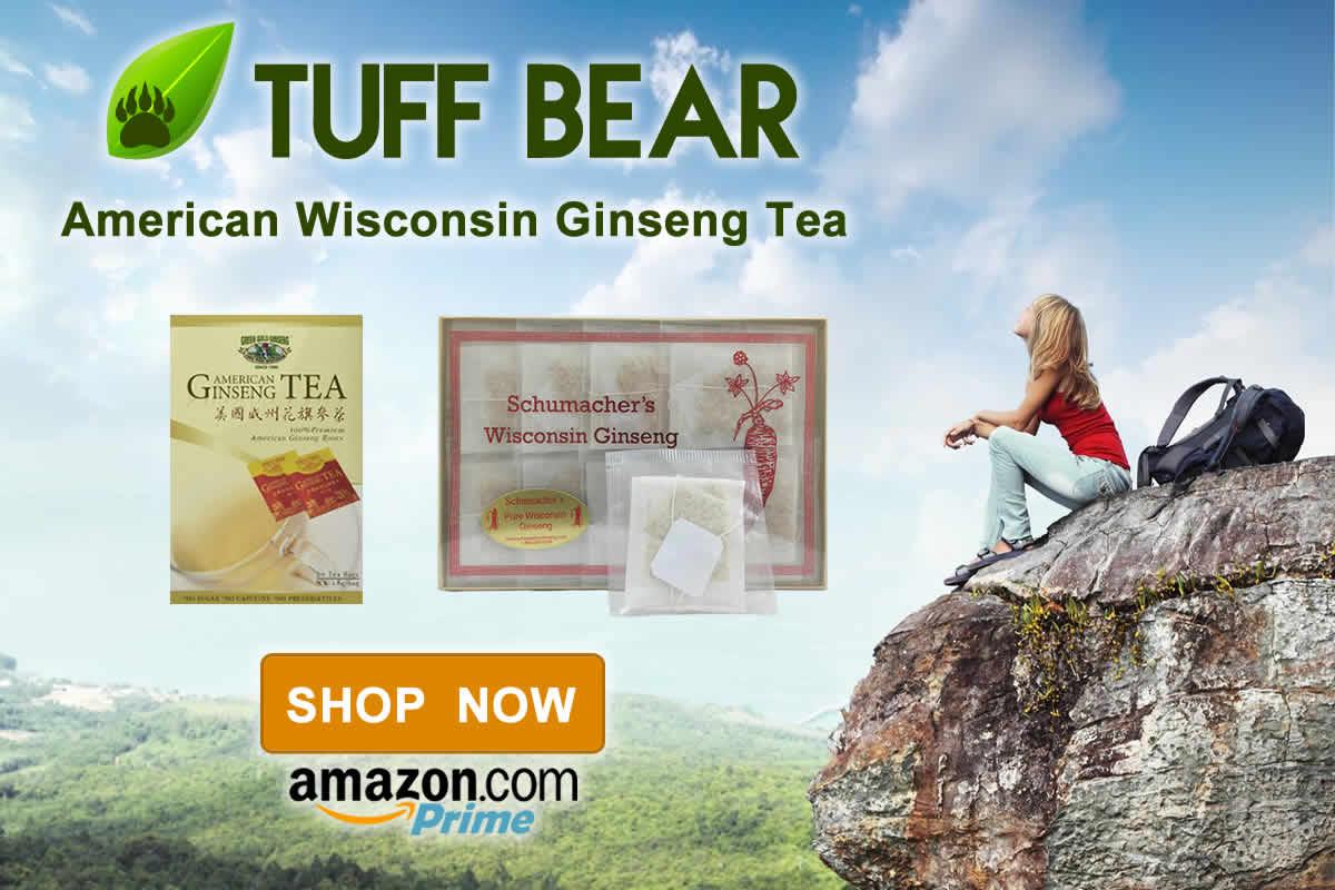 Shop Now! New Wisconsin Ginseng Tea