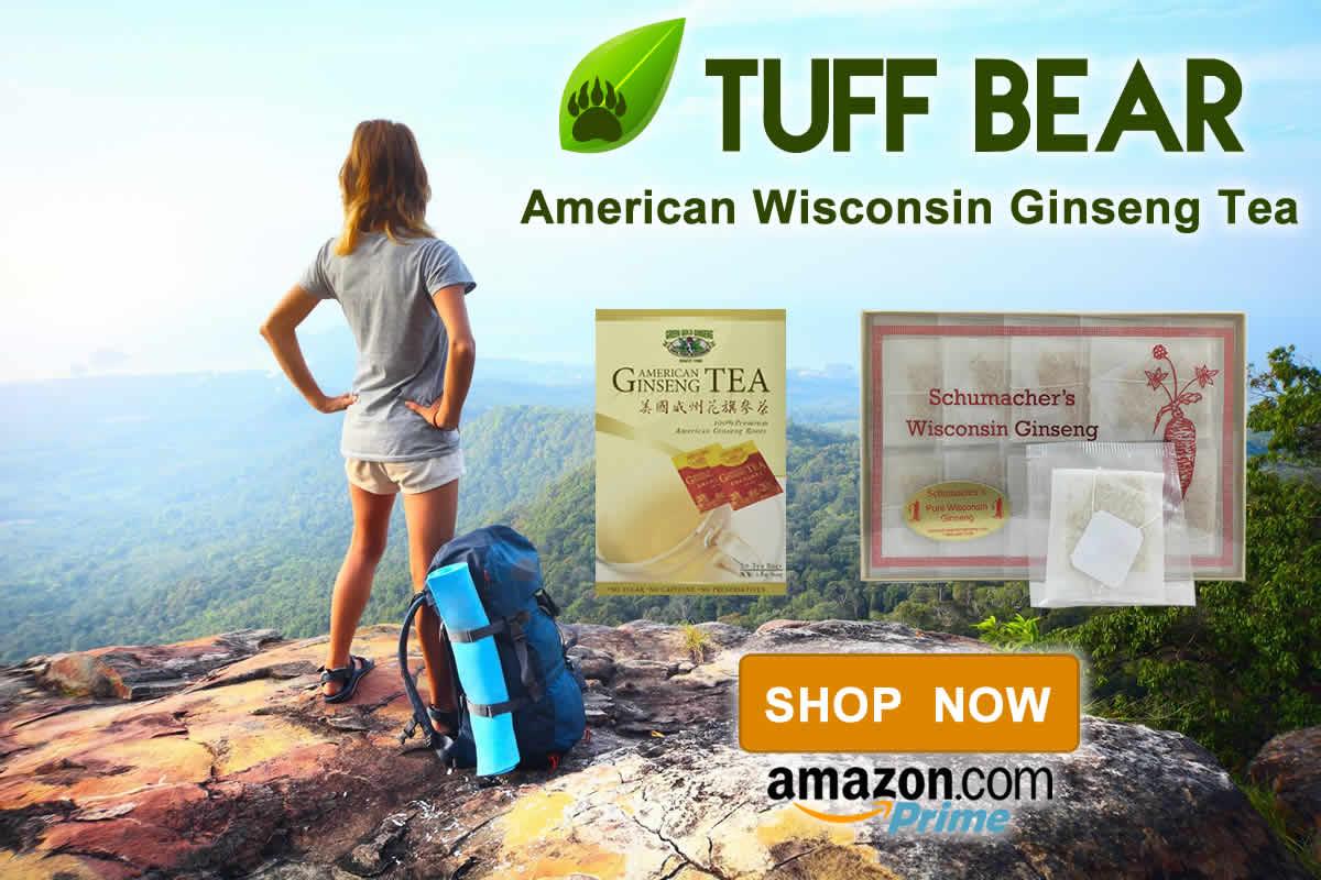 Top Brand! Best American Ginseng Tea