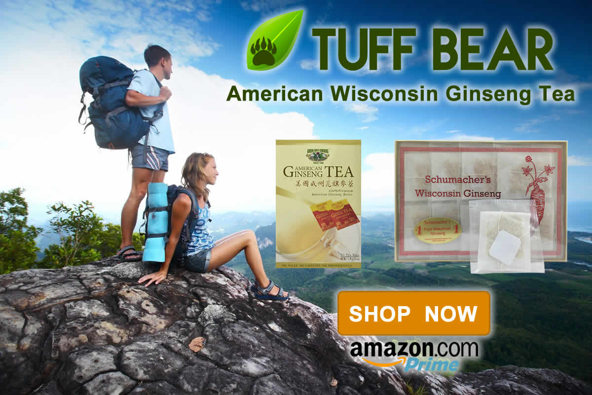 Brand New American Ginseng Tea