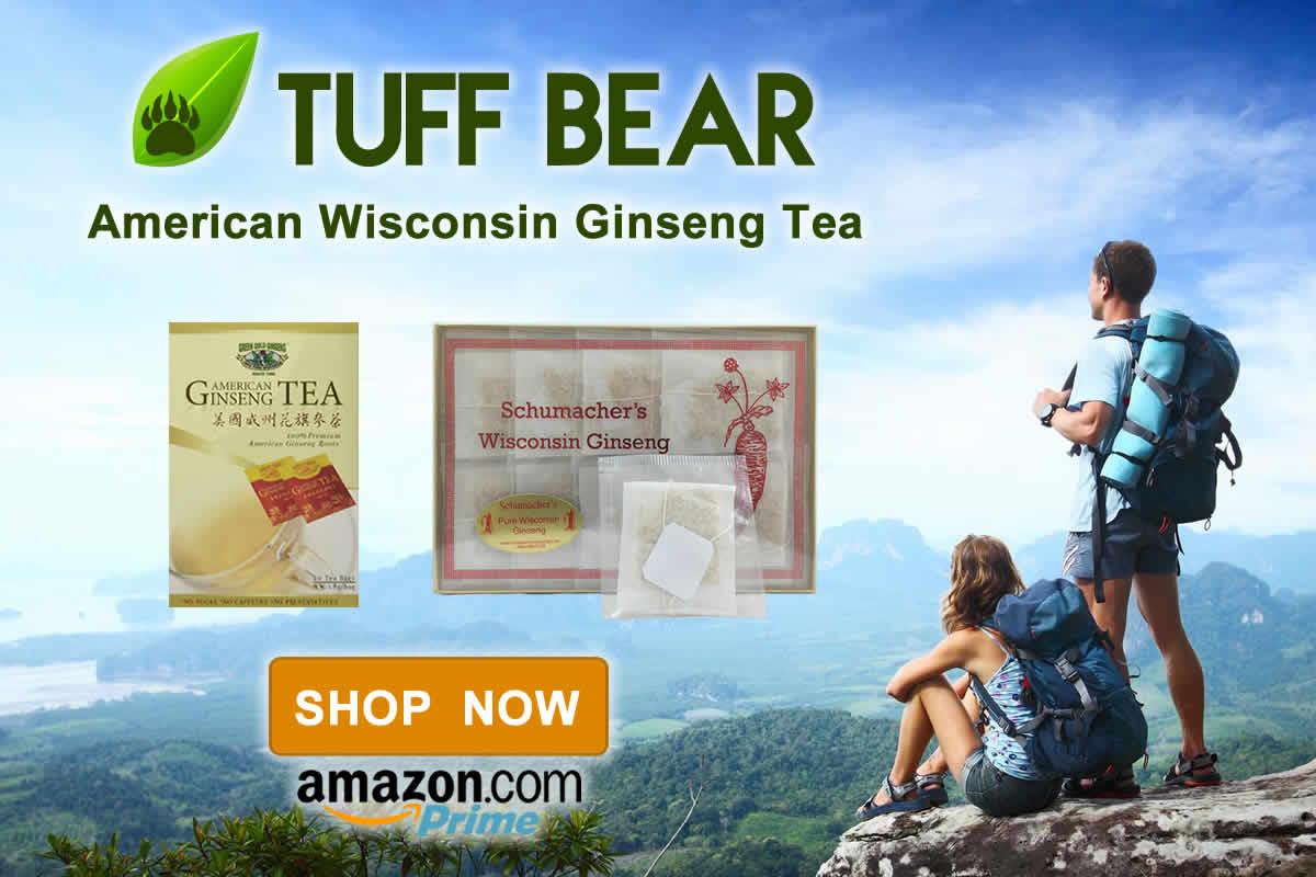 Shop Now! New American Ginseng Tea