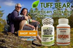 Brand New Wisconsin Ginseng Capsules