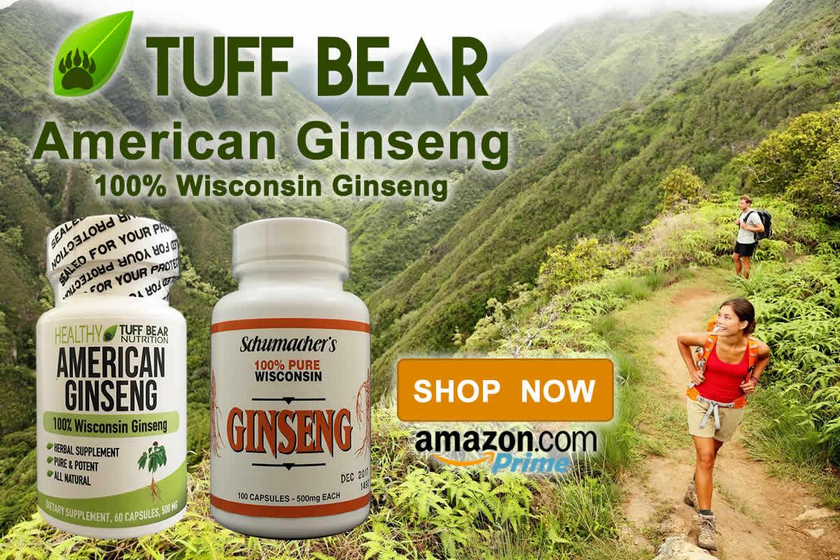 Shop Now! Best Wisconsin Ginseng Supplements