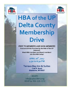 Escanaba Area Membership Drive Tonight!