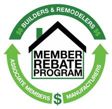 Builders & Remodelers, Associate Members, Manufacturers | Member Rebate Program