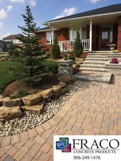 See us for landscaping steps in Marquette, MI
