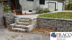 Landscaping steps in Munising, MI