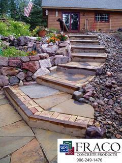 See us for landscaping retaining walls in Munising, MI