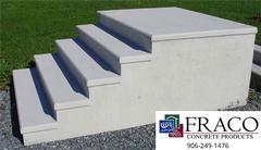 Concrete blocks in Munising, MI