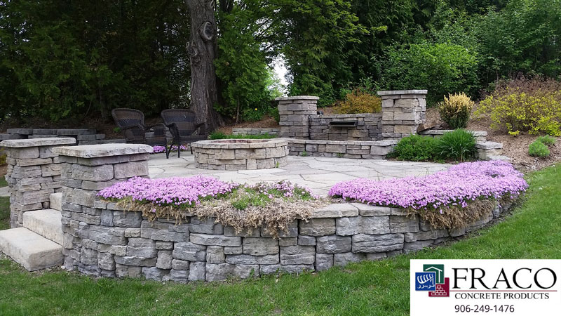Landscaping steps in Ishpeming, MI