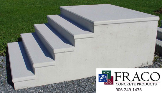 See us for concrete steps in Harvey, MI