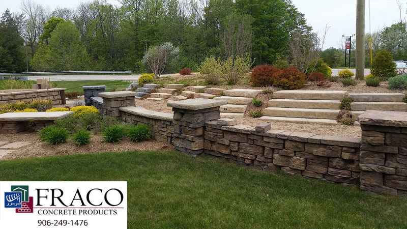 See us for landscaping retaining walls in Cascade, MI