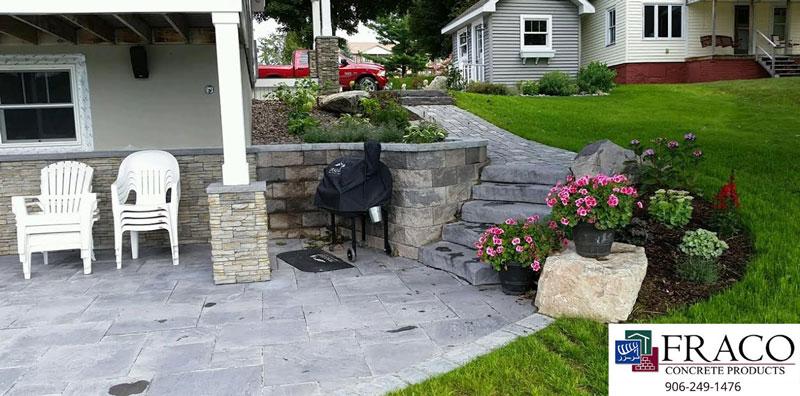 Landscaping brick in Cascade, MI