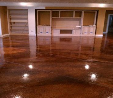 Concrete Acid Stain by Fraco Concrete Products in Marquette, MI