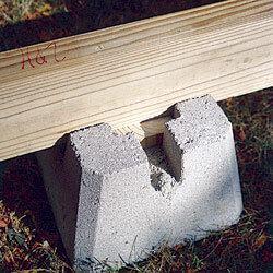 Pre-Cast Deck Block